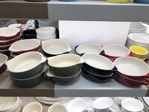 グラタン皿(赤・青・緑)
