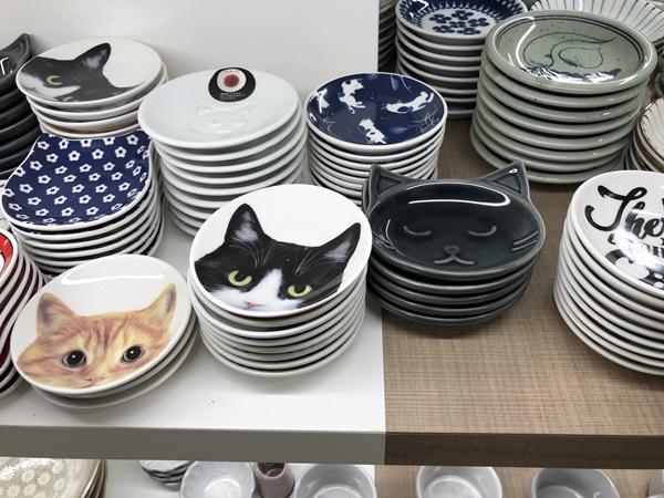 豆皿(猫)