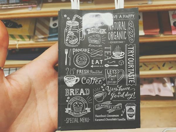 ミニハンドルバッグ カフェ