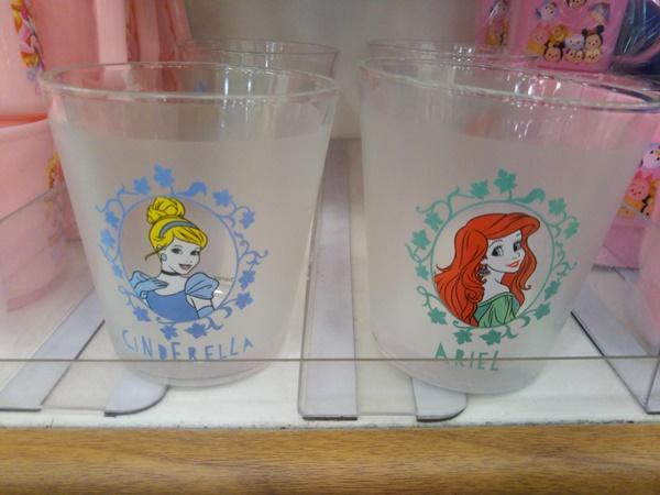 プリンセス ガラスグラス