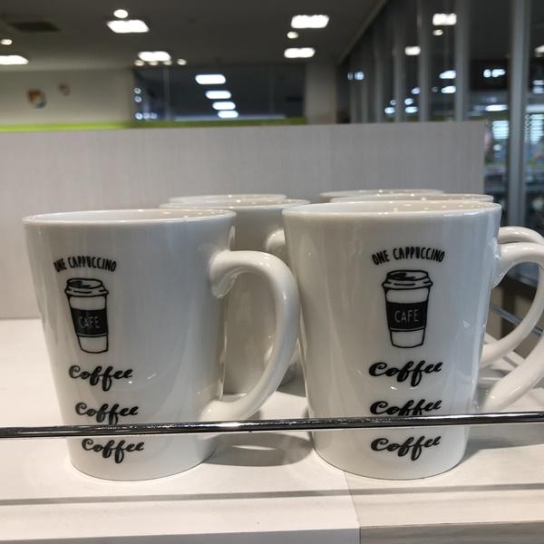コーヒー柄マグ