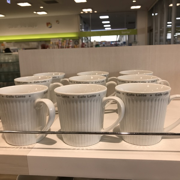 Cafe Lateロゴ入りマグ