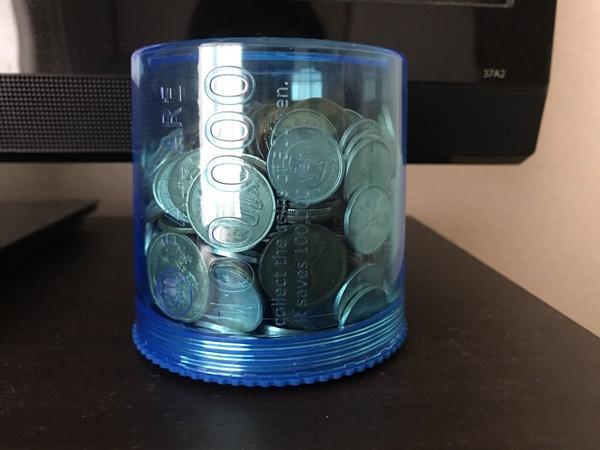 我が家の貯金箱