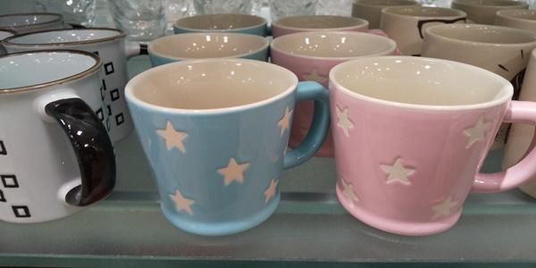 星のマグカップ