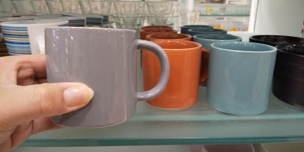 無地のミニカップ