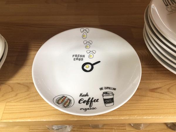 カフェ風デザイン皿